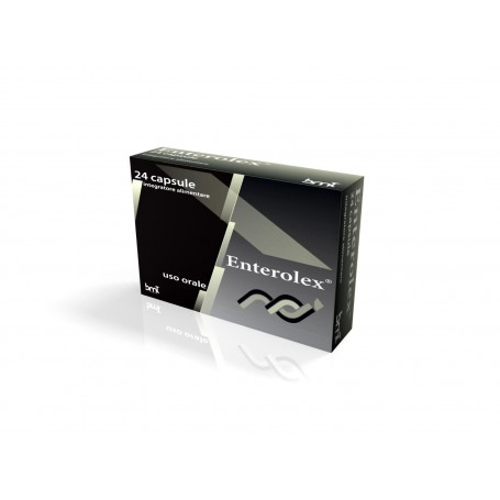 Enterolex integratore alimentare 24 capsule da 520 mg